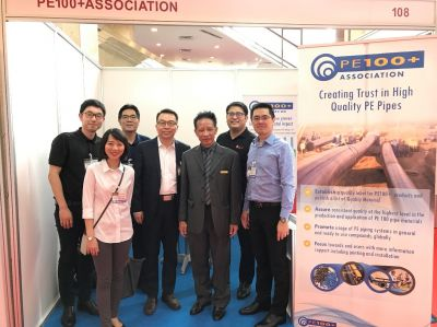 Representing  PE100+ Association at Trenchless Indonesia  2017