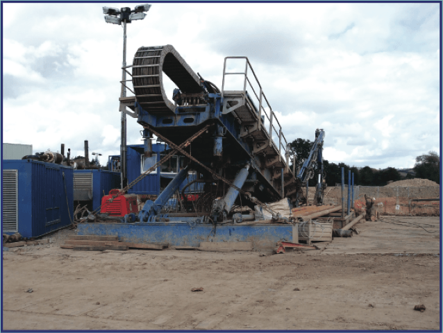 PE100 pipe can be installed by horizontal directional drilling