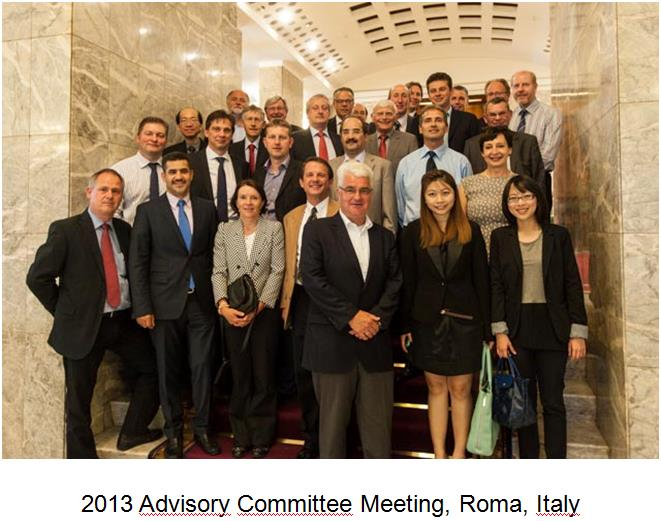 2013 Advisory Meeting, Roma